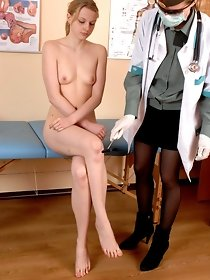 Gyno exam for sapphic virgin - free fetish pics